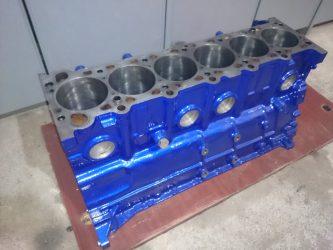 Чем красить блок двигателя?