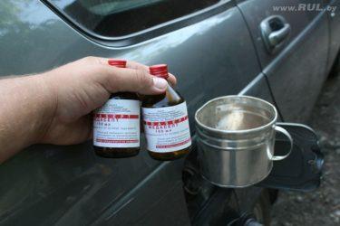 Как удалить влагу из бензобака бензинового двигателя?