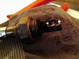 Как очистить датчик кислорода?