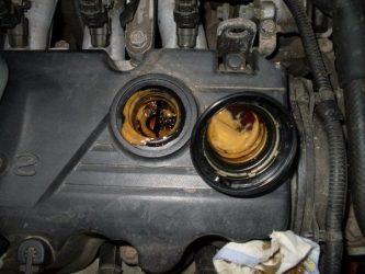Как убрать эмульсию из двигателя?