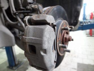 Обслуживание суппорта дискового тормоза