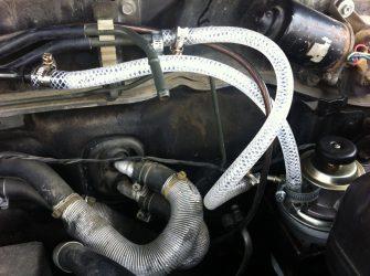 Подсос воздуха в топливную систему бензинового двигателя