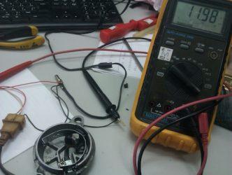 Как прозвонить датчик холла мультиметром?