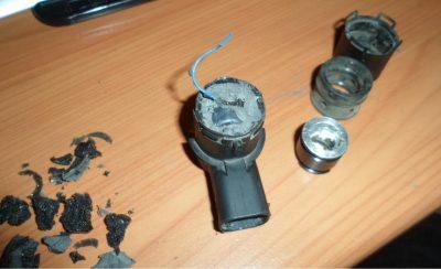 Как починить датчик парктроника?