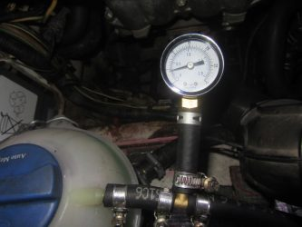 Избыточное давление в системе охлаждения двигателя причины
