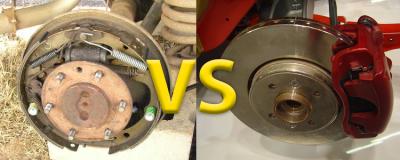 Дисковые или барабанные тормоза что лучше?