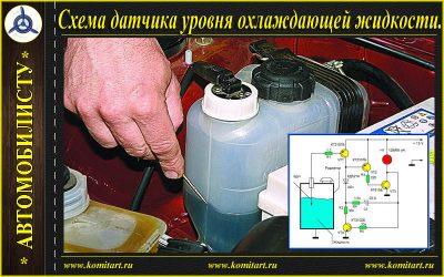 Как работает датчик уровня охлаждающей жидкости?
