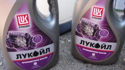 Как использовать промывочное масло для двигателя?