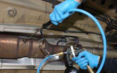 Очистка катализатора автомобиля химическим способом