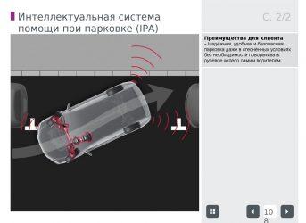 Интеллектуальная система помощи при парковке ipa