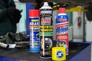 Очиститель тормозов как пользоваться?