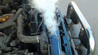 Что делать при перегреве двигателя?