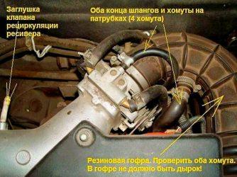 Как влияет подсос воздуха на работу двигателя?