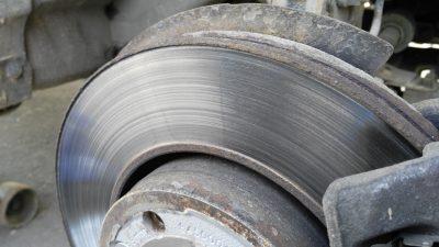 Как определить износ тормозных дисков?