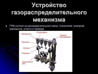 Для чего предназначен газораспределительный механизм дизельного двигателя?