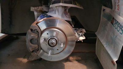 Как почистить тормозные диски от ржавчины?