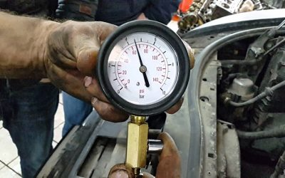 Какое давление в масляной системе двигателя?