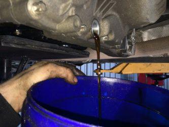 Как полностью слить масло из двигателя?