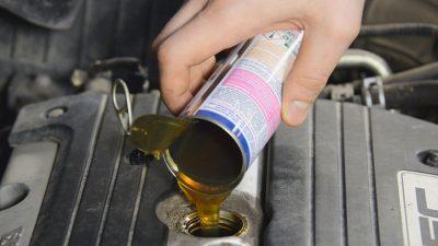 Как промыть масляную систему двигателя?