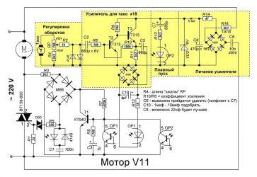 Как уменьшить обороты коллекторного двигателя?
