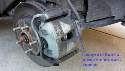 Ватная педаль тормоза после замены колодок