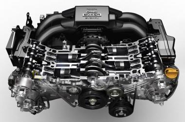 Что значит оппозитный двигатель?