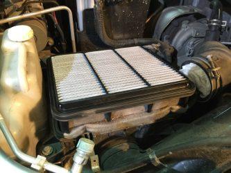 На что влияет воздушный фильтр двигателя?