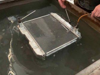 Как проверить радиатор охлаждения двигателя?