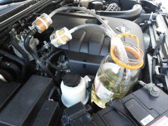 Как промыть топливную систему бензинового двигателя самому?